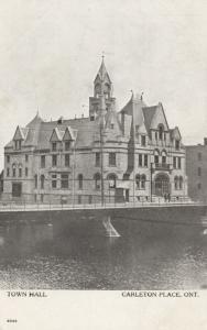 CARLETON PLACE , Ontario , Canada , 1900-10s ; Town Hall, Bridge # 2