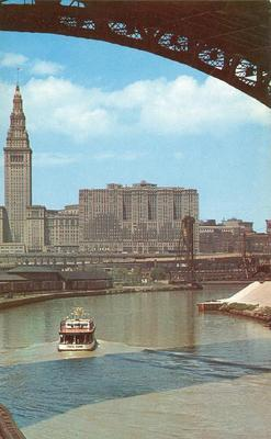 Terminal Group and Cuyahoga River, Cleveland, Ohio unused...