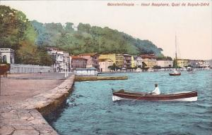 Haut Bosphore Quai de Buyuk-Dere Constantinople Turkey
