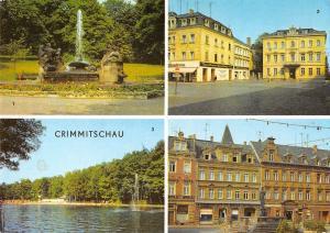 GG12211 Crimmitschau Im Friedenspark Hotel Haus der Einheit, Sahnpark Markt