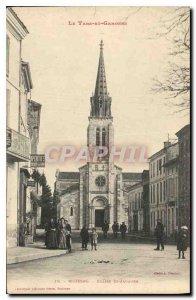Postcard Old Moissac Church St Jacques