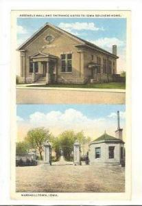 2-View,Assembly Hall,Gates,Soldiers Home,Iowa,10-20s