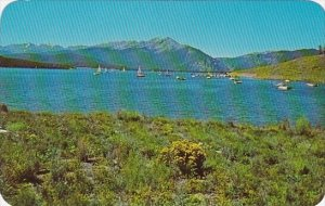 Dillon Sail Boats And Fishing Boats In One Of The Many Coves On Dillon Reserv...