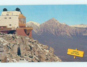 Pre-1980 SKY TRAM RIDE Jasper Alberta AB AD2922