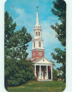 Unused Pre-1980 CHURCH AT UNIVERSITY OF CONNECTICUT Storrs Connecticut CT L4292