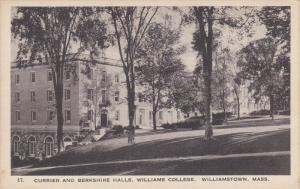 WILLIAMSTOWN, Massachusetts, 1900-1910's; Currier And Berkshire Halls, Willia...