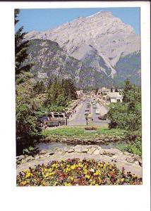 Bus, Banff, Alberta