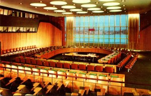 New York City United Nations Economic and Social Chamber