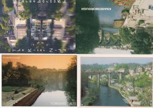 Knaresborough The River Yidd Bridge TWELVE 12x Mint Postcard s
