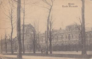 MONS, Hainaut, Belgium, 1900-1910's; Ecole Normale