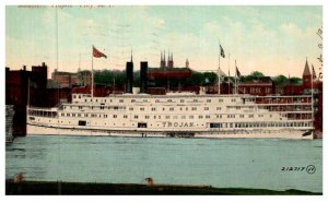 New York  Troy , Steamer Trojan