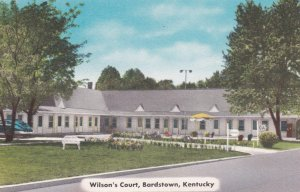 BARDSTOWN , Kentucky , 1930-40s ; Wilson's Court