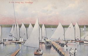 Greetings; 00-10s; A Fine Racing Day, Sailboats
