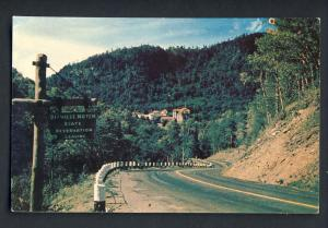 White Mountains New Hampshire/NH Postcard, Dixville Notch