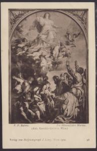 The Assumption of Mary,Rubens Painting