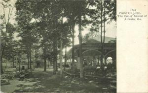 Atlanta Georgia Amusement Park 1906 Ponce De Leon Coney Island Miller 2621