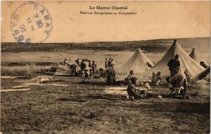 CPA Femmes Senegalaises au Campement MAROC (825220)