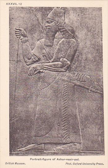 Palace of Assur wall panel , Iraq , 00-10s : Portrait of Ashur-nasir-pal