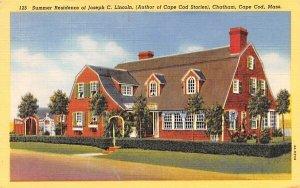 Summer Residence of Joseph C. Lincoln in Chatham, Massachusetts
