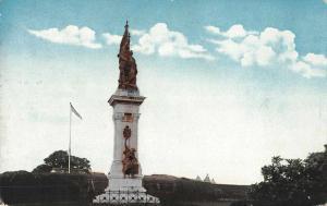 Manila Philippines Luneta Legazpi Urdaneta Monument Antique Postcard J75867