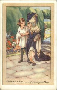Alice in Wonderland THE DUCHESS K. Nixon CW Faulkner c1910 Postcard