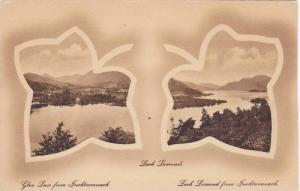 2-Views Of Panoramas, Loch Lomond, Scotland, UK, 1900-1910s