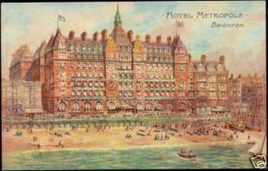 sussex, BRIGHTON, Hotel Metropole (1910s)