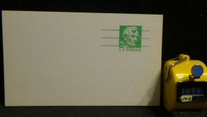 Lincoln Postcard UX55 MNH 1968 Unposted