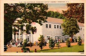 North Carolina Ridgecrest Baptist Assembly The Auditorium