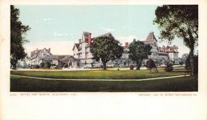 Monterey California c1906 Postcard Hotel Del Monte by Detroit Photographic