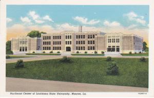 MONROE , Louisiana , 1910-30s ; NE Center of LSU