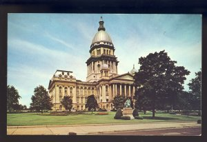 Springfield, Illinois/IL Postcard, View Of The State Capitol