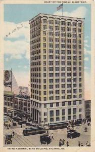 Heart Of Financial District, Third National Bank Building, Atlanta, Georgia, ...