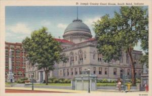 Indiana South Bend St Joseph County Court House Curteich