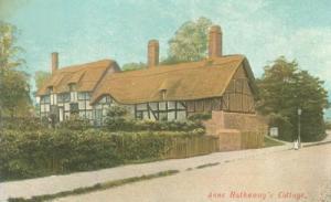 United Kingdom, Anne Hathaway's Cottage, Stratford, early...