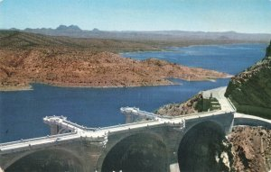 Postcard Coolidge Dam Arizona
