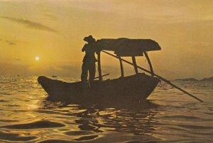 Hong Kong , China , 60-80s ; Fishing Boat