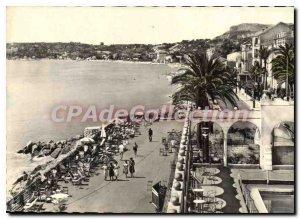 Postcard Moderne Menton The Promenade Du Casino Le Cap Martin
