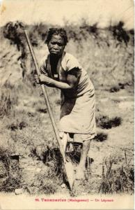 CPA TANANARIVE Un Lepreux MADAGASCAR (709457)