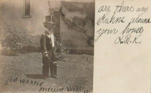RP: BLOOMSBURG , Pennsylvania, 1908 ; Boy in a Tux
