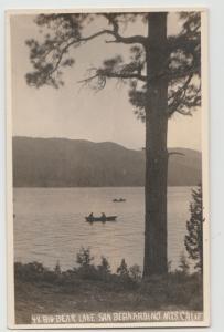 BIG BEAR LAKE 1919-39 CA RPPC Postcard real photo