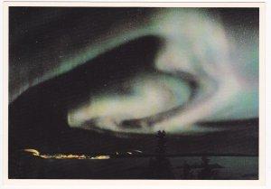 NWT , Canada , 1950-70s ; Aurora Borealis