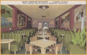 Lexington, KY., Golden Horseshoe Restaurant, Where delicious food is served
