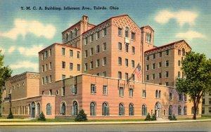 Ohio Toledo Y M C A Building Jefferson Avenue