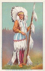 Buffalo Bill's Wild West Show Indian , Great Britain , 1904