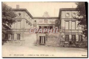Old Postcard Beaucaire L & # 39Hotel Town