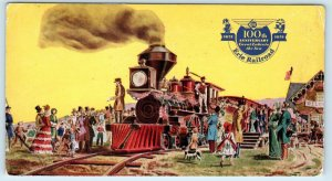 DUNKIRK, NY New York  ERIE RAILROAD 100TH ANNIVERSARY  1951 Postcard