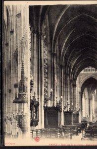 Basilique Saint-Epyre,Nef,lateral,Nancy,France BIN