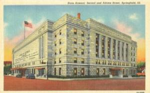 State Arsenal Second and Adams Street, Springfield, Illin...