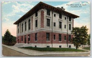 Jonesboro Arkansas~Post Office & US Federal Court House~c1910 Postcard